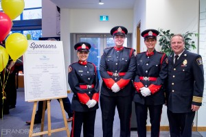 Guelph Honour Guard at fundraising event